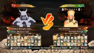 getlinkyoutube.com-Character mod naruto ultimate ninja storm 4 on NUNSR