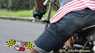 getlinkyoutube.com-drag bike 2015   setting jupiter 130 tu Danang cduck lembu sakti Jogjakarta & kawasaki ninja CBM