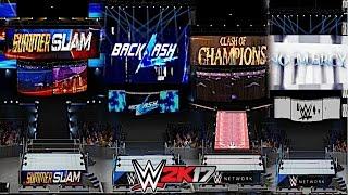 getlinkyoutube.com-WWE 2K17: New Era PPV Arenas So Far! (SummerSlam, BackLash, Clash of Champions & No Mercy 2016)