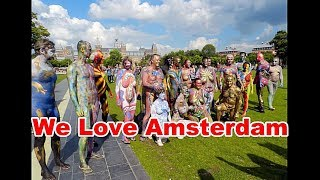 getlinkyoutube.com-2016 Bodypainting In Amsterdam .. The Artists Overview