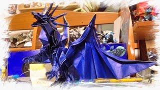 getlinkyoutube.com-これぞ神業!折紙のドラゴン開封
