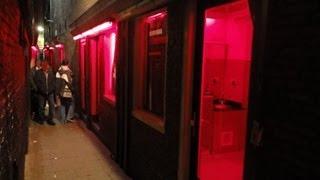 getlinkyoutube.com-Amsterdam's Red Light District - Trompettersteeg & Bethlemsteeg (Daytime)