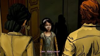 getlinkyoutube.com-Funny moments: Clementine meets the big bad wolf