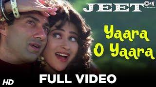 Yaara O Yaara - Jeet | Sunny Deol & Karisma Kapoor | Vinod Rathod & Alka Yagnik