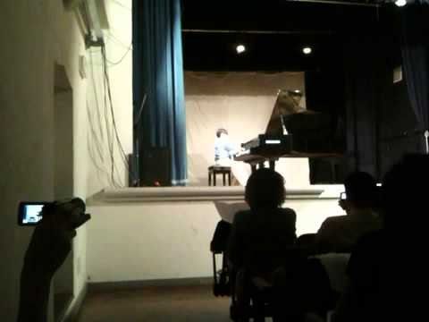 Christopher Y.,11( student of Marina Obukovsky) is performi