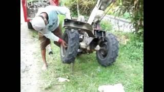 getlinkyoutube.com-Traktor Quick G 1000 Kubota RD 85 selesai bekerja,siap pulang