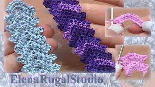 getlinkyoutube.com-Crochet Simple Cord Урок 1 Вязаные шнуры