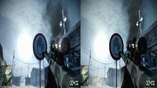 Battlefield Bad Company 2 PC Gameplay High Vs Low Comparison 1080p HD