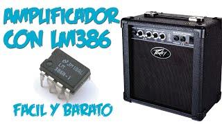 getlinkyoutube.com-Amplificador para Pruebas | LM386 | Super facil
