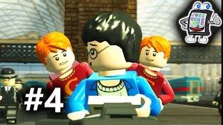 getlinkyoutube.com-LEGO HARRY POTTER Deutsch #4 - HOGWARTS EXPRESS (Jahr 1) - Spiel mit mir Apps und Games