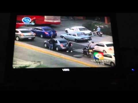 Asaltos infraganti captados en Guatemala
