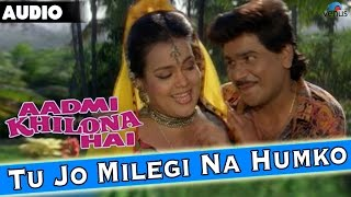 Aadmi Khilona Hai : Tu Jo Milegi Na Humko Full Audio Song With Lyrics | Govinda, Meenakshi Seshadri