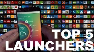 getlinkyoutube.com-Top 5 Android launchers 2014
