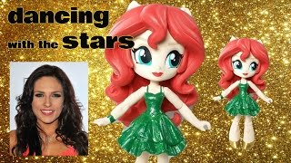 getlinkyoutube.com-Sharna Burgess Dancing With The Stars Custom Doll Tutorial | Start With Toys