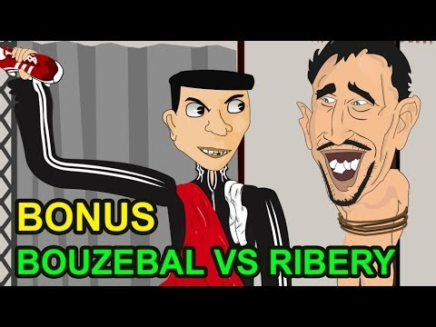 ريبيريه و بوزبال - بونيس بوزبال يساند الرجاء - bonus Ribery Vs Bouzebal raja