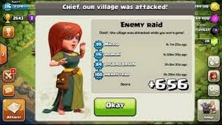 getlinkyoutube.com-Clash of Clans Town Hall 4 Defense (CoC TH4) BEST War Base Layout Defense Strategy