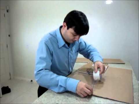 Maquina de dobrar camisetas