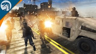 getlinkyoutube.com-US RANGER BRIDGE ASSAULT | Call of Duty MOD | Men of War: Assault Squad 2 [MOD] Gameplay