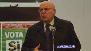 Referendum 4 Dic   Mario Oliverio Cariati 28 11 2016