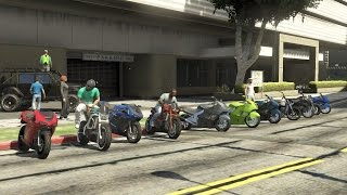 getlinkyoutube.com-GTAV Online | Bike Life | Cruising, Stopping Traffic, ATV Build, New Spot W/SpecaAgentProduction