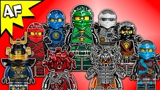 getlinkyoutube.com-Lego Ninjago Hands of Time Minifigures Collection 2017