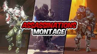 getlinkyoutube.com-All Halo 5 Assassinations Montage (Multiplayer & Campaign)