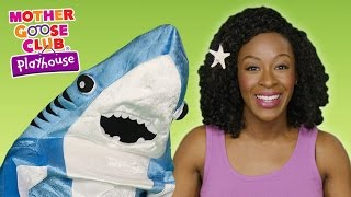 Baby Shark | Shark Family Dance Party | Mother Goose Club Playhouse Kids Video