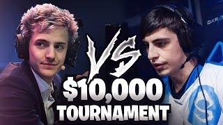 SHROUD VS NINJA! [10,000$ FORTNITE TOURNAMENT]