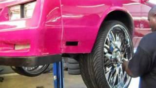 """getlinkyoutube.com-Chevy Monte Carlo on 26"""" Forgiatos- Arctic Customs"""