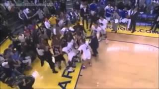 getlinkyoutube.com-Fight Golden State Warriors Nba