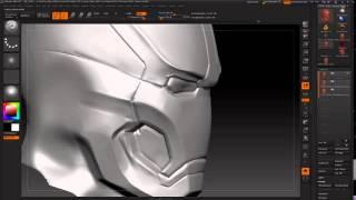 Iron Man Bust - Zbrush - Speed Sculpting