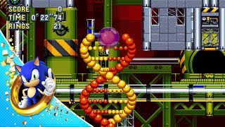 Sonic Mania - Chemical Plant Zone Act 2 Játékmenet