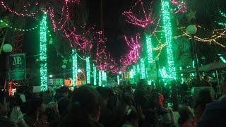 getlinkyoutube.com-Christmas In The Park 2015 - Six Flags Mexico | Recorrido