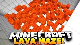getlinkyoutube.com-Minecraft - LAVA MAZE! (Puzzle Map) - Part 1 - w/ Preston, Nooch & Kenny