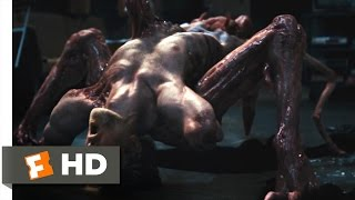 The Thing (6/10) Movie CLIP - The Thing Reveals Itself (2011) HD