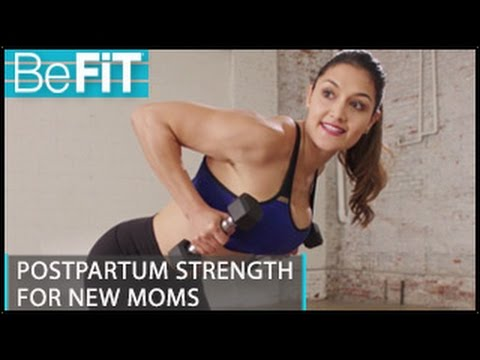 Postpartum Strength Workout for New Moms: Madeline Mosier