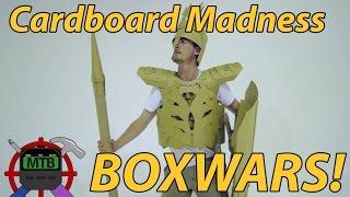 getlinkyoutube.com-BOXWARS! - Cardboard Battle Royale!   Make Test Battle