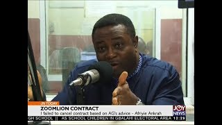 Zoomlion Contract - Joy News Today (6-12-17)