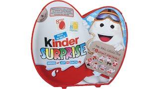 getlinkyoutube.com-Kinder Surprise Chocolate Eggs 8 Sport Surprises - Fun Kids Toys