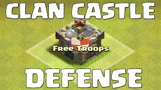 getlinkyoutube.com-Clash of Clans | The BEST Troops for your Clan Castle Defense!