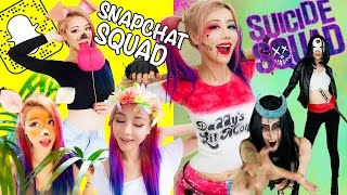 getlinkyoutube.com-13 DIY Halloween Costumes EVERY SQUAD NEEDS TO TRY!! #SQUADGOALS