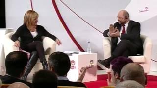 Mesa redonda con Martin Schulz y Elena Valenciano: