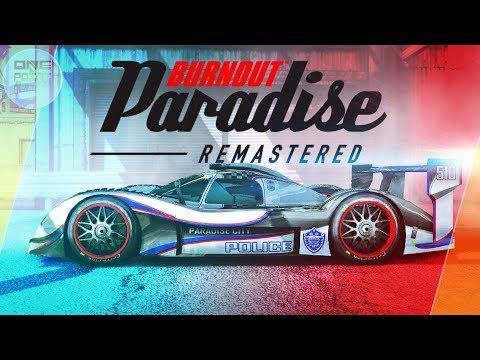 Burnout Paradise Remastered - САМЫЕ ТОПОВЫЕ ПОЛИЦЕЙСКИЕ АВТО!?