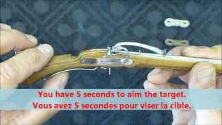 getlinkyoutube.com-Wonderful Miniature Matchlock Musket (maintenance and fire).