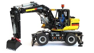 getlinkyoutube.com-LEGO Technic Wheel Excavator