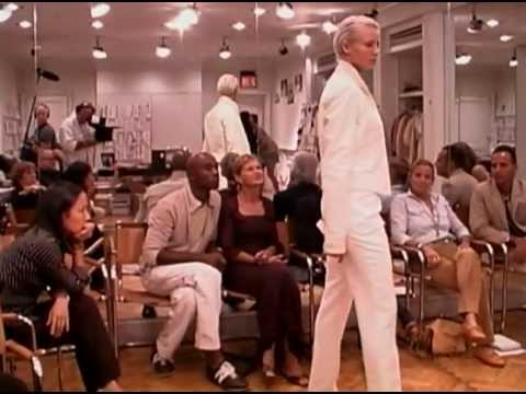 Ralph Lauren Spring 2002 Collection: Casting