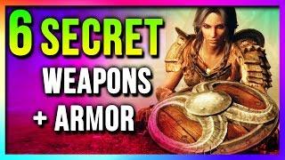getlinkyoutube.com-Skyrim 6 SECRET Unique Weapons & Armor Locations (Best EASY To Get Special Edition)