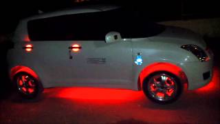 getlinkyoutube.com-Swift Car Modified With Lights By Punjabi Boys From kapurthala