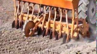 Rotadrill - Rotavator and coltar wheat drill together