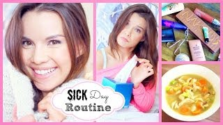 getlinkyoutube.com-Sick/Chill Day Skincare, Makeup, Outfit + Chicken Soup Recipe!